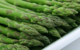 Fresh green vegetables, macro close up Stock Photos