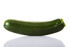 Fresh green zucchini Royalty Free Stock Photography