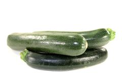 Fresh green zucchini Royalty Free Stock Photo