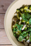 Fresh greens salad royalty free stock images