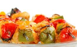 Fresh Grilled chicken tikka Stock Photography