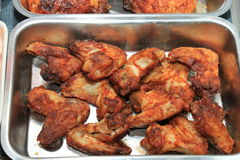 Fresh grilled poultry products Royalty Free Stock Photos