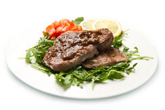 Fresh grilled red meat Stock Photo
