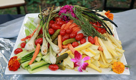 Fresh grilled vegetables Royalty Free Stock Photos