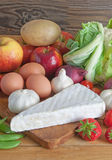 Fresh groceries Stock Photography