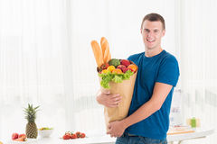 Fresh groceries Royalty Free Stock Images