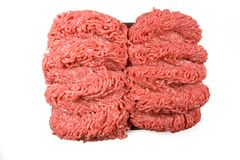 Fresh Ground Beef Royalty Free Stock Images