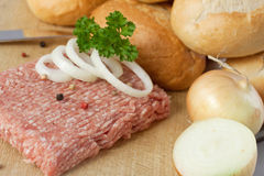 Fresh ground beef Royalty Free Stock Photos