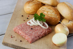 Fresh ground beef Royalty Free Stock Photography