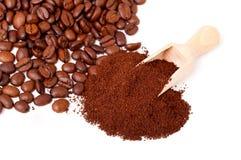 Fresh ground coffee Royalty Free Stock Photo