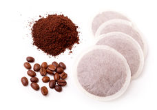 Fresh ground coffee Royalty Free Stock Images
