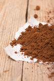 Fresh ground coffee Royalty Free Stock Photography