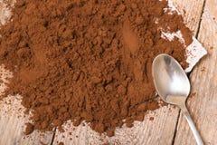 Fresh ground coffee Stock Photography