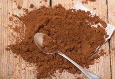 Fresh ground coffee Stock Photo