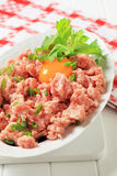 Fresh ground meat Stock Photography