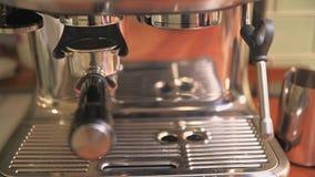 Fresh grounded coffee for espresso in espresso basket