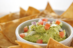 Fresh Guacamole Royalty Free Stock Photos