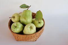 Fresh guava. Diet fruit. Royalty Free Stock Images