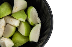 Fresh of Guava fruit. In cup Royalty Free Stock Photography