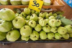 Fresh guava fruit at the market.Thailand. Fresh guava fruit at the market.Thailand Stock Image
