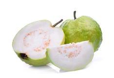 Fresh guava fruit solated on white Stock Image