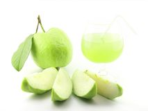 Fresh guava juice Royalty Free Stock Photos