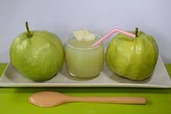 Fresh guava juice Stock Photos
