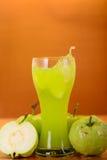 Fresh guava juice and split Stock Photos