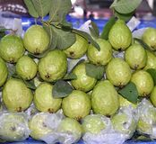 Fresh guavas Royalty Free Stock Image