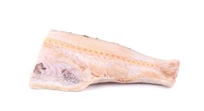 Fresh half of carp fillet. Stock Photo