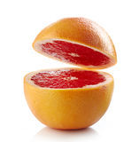 Fresh half grapefruit Royalty Free Stock Photography