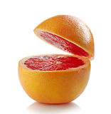 Fresh half grapefruit Royalty Free Stock Photos