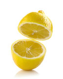 Fresh half lemon Stock Image