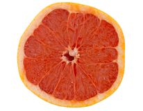 Fresh halve Pink Grapefruit Stock Images