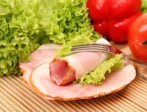 Fresh ham Royalty Free Stock Images