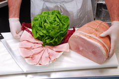 Fresh ham. Stock Photography
