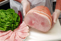 Fresh ham. Stock Photography