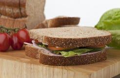Fresh Ham Sandwich Stock Images