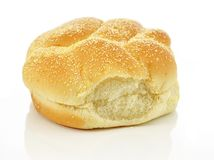 Fresh hamburger bun Stock Photo