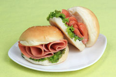 Fresh Hamburger Stock Images