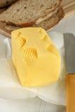 Fresh hand churned butter Stock Image