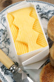 Fresh hand churned butter Royalty Free Stock Images