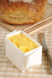 Fresh hand churned butter Stock Photography