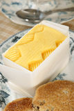 Fresh hand churned butter Royalty Free Stock Image