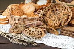 Fresh handmade bakery bread Stock Image