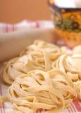 Fresh handmade pasta Royalty Free Stock Photography