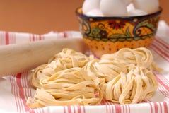 Fresh handmade pasta Stock Photos