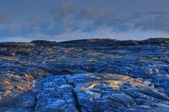 Fresh hardened Lava Stock Photo