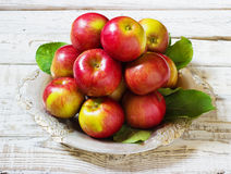 Fresh harvest of apples.Nature fruit concept. Stock Image