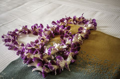 Fresh Hawaiian Lei Royalty Free Stock Photography